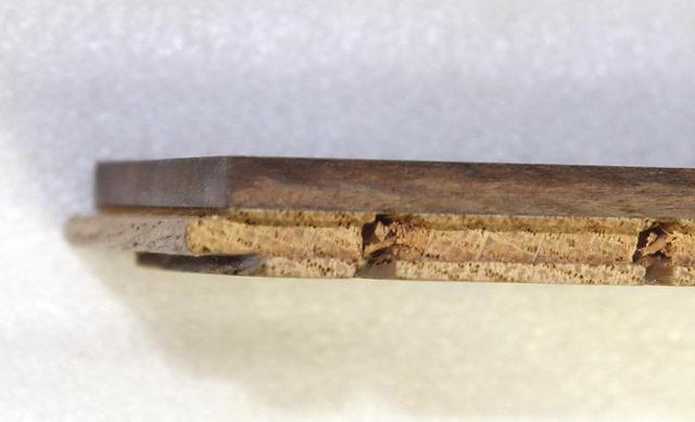 zwei-schicht-fertigparkett im querschnitt